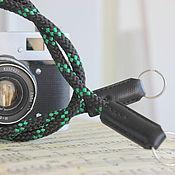 Аксессуары ручной работы. Ярмарка Мастеров - ручная работа Ремень- шнур для фотоаппарата. Handmade.