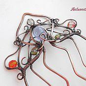 """Украшения ручной работы. Ярмарка Мастеров - ручная работа Гребень """"Диана"""". Handmade."""