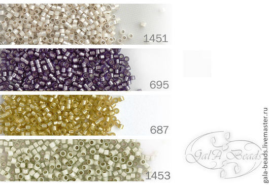 1451   silver-lined opal ivory\r\n695     silver-lined frosted violet\r\n687     silver-lined frosted yellow-green\r\n1453   silver-lined opal moss green