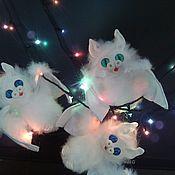 Куклы и игрушки handmade. Livemaster - original item White Bat. Handmade.