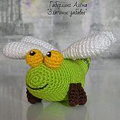 Куклы и игрушки handmade. Livemaster - original item Toy dragonfly, crochet. Handmade.