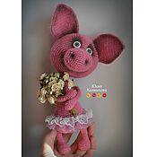 Куклы и игрушки ручной работы. Ярмарка Мастеров - ручная работа Фуня балеринка (вязание крючком). Handmade.