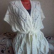 Одежда handmade. Livemaster - original item Knitted vest-jacket