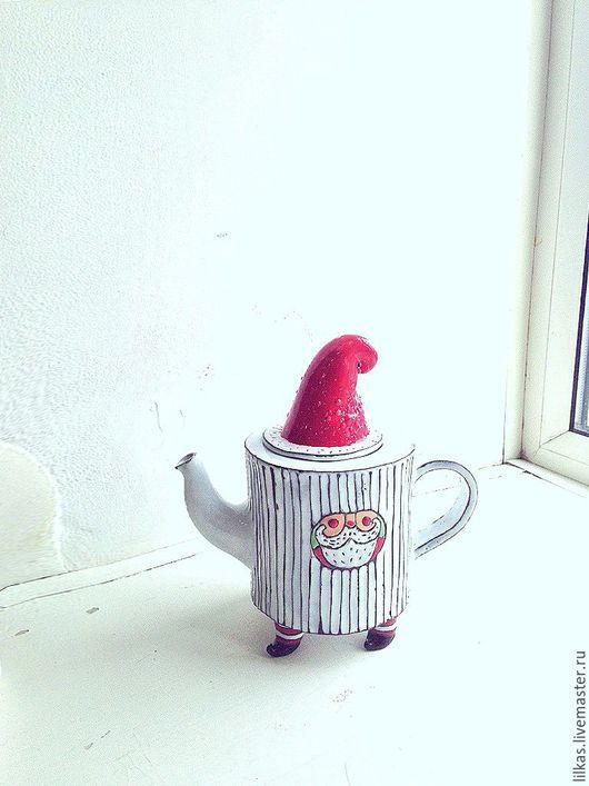 """Чайники, кофейники ручной работы. Ярмарка Мастеров - ручная работа. Купить """" В ожидании нового..."""". Handmade. Комбинированный"""
