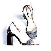 Обувь ручной работы. Ярмарка Мастеров - ручная работа Босоножки с шипами из питона. Handmade.