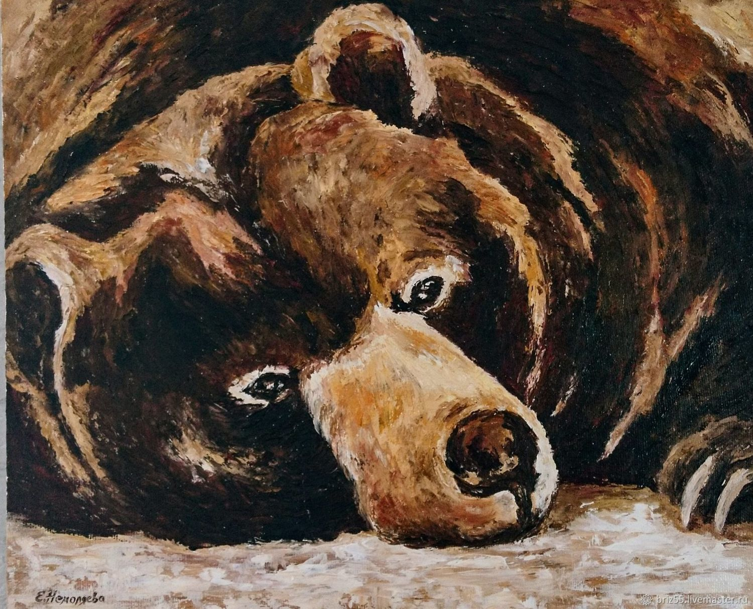 Oil painting Toed, Pictures, Zelenograd,  Фото №1