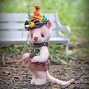 Teddy Toys handmade. Livemaster - original item Aelita`s Mouse. Handmade.