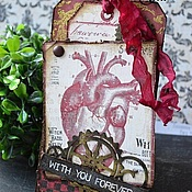 """Подарки на 14 февраля ручной работы. Ярмарка Мастеров - ручная работа Тэг из серии """"Ирэн Адлер"""". Handmade."""