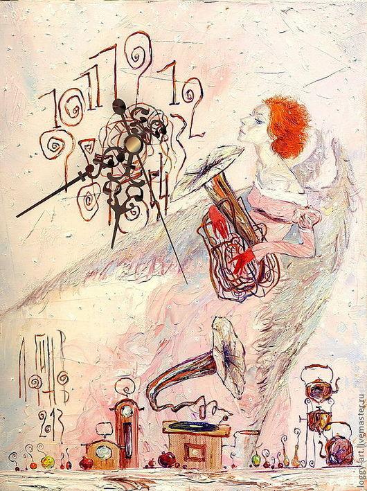 """Символизм ручной работы. Ярмарка Мастеров - ручная работа. Купить """"Хранительница времени"""". Handmade. Ангел, ангел-хранитель, ангел снов"""