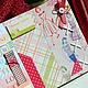 Фотоальбомы ручной работы. Ярмарка Мастеров - ручная работа. Купить Фотоальбом Модница Подарок для женщины Для фото Красный. Handmade.