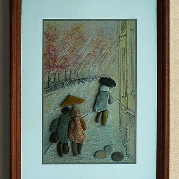 Картины и панно ручной работы. Ярмарка Мастеров - ручная работа Картины: Поздняя осень. Handmade.