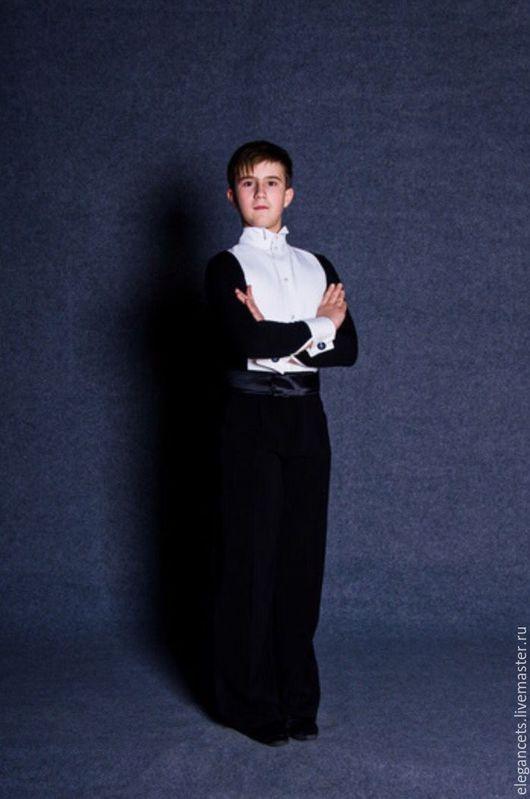 Танцевальные костюмы ручной работы. Ярмарка Мастеров - ручная работа. Купить Фрачная рубашка. Handmade. Фрачная рубашка, комбидресс