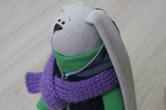 Зайцы, заяц, зайка, заяц подарок, заяц текстильный, текстильная игрушка, мягкая игрушка, мягкая игрушка заяц, купить подарок.Текстильный заяц, заяц Тильда.Игрушки животные. Интерьерная игрушка. Гусева