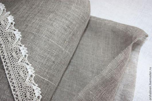"""Шитье ручной работы. Ярмарка Мастеров - ручная работа. Купить Ткань декоративная """"мелкая сетка"""". Handmade. Темно-серый"""