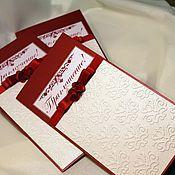 Свадебный салон ручной работы. Ярмарка Мастеров - ручная работа Приглашение (арт.0015). Handmade.