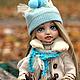 Коллекционные куклы ручной работы. Стася. YanaDolls. Ярмарка Мастеров. Осень, книга ручной работы, шерсть