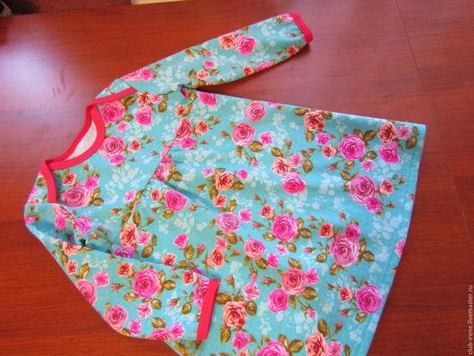 Одежда для девочек, ручной работы. Ярмарка Мастеров - ручная работа. Купить Платье теплое для девочки. Handmade. Фуксия, для детского сада