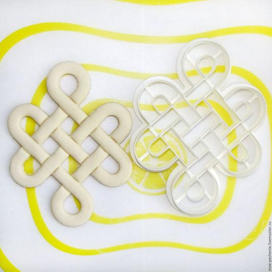 Плетеный узор. Вырубка-штамп для пряников.