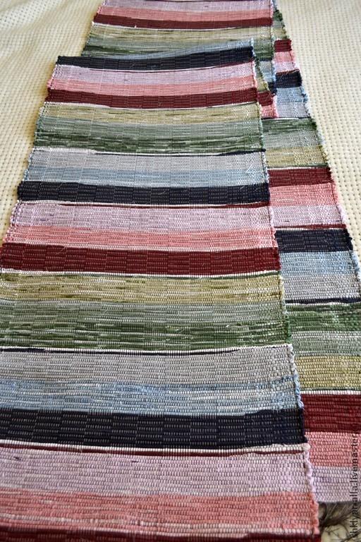 Текстиль, ковры ручной работы. Ярмарка Мастеров - ручная работа. Купить Половик ручного ткачества 3,29 м (№ 61). Handmade.