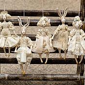 Куклы и игрушки ручной работы. Ярмарка Мастеров - ручная работа Ретро-игрушки (подвески). Handmade.