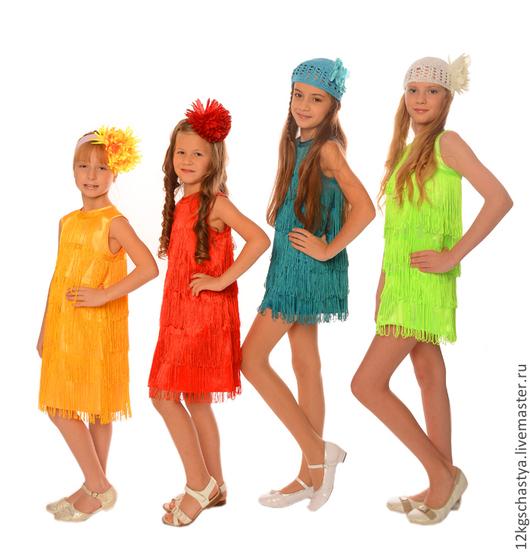 """Одежда для девочек, ручной работы. Ярмарка Мастеров - ручная работа. Купить Платье """"Ниагара"""". Handmade. Однотонный, платье коктейльное, атлас"""