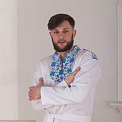 Русский стиль handmade. Livemaster - original item Russian linen shirt Northern. Handmade.
