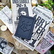 Подарки к праздникам ручной работы. Ярмарка Мастеров - ручная работа Книга Гарри  Поттера. Handmade.