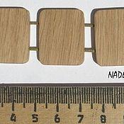 Материалы для творчества ручной работы. Ярмарка Мастеров - ручная работа Бусины из дерева. Handmade.