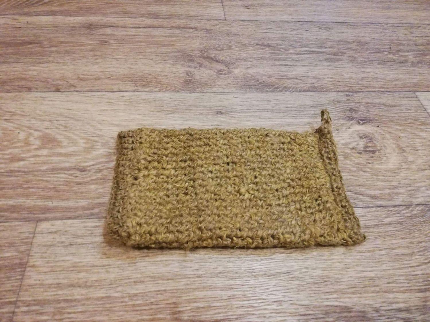 Мочалка из крапивного волокна, Мочалки, Тверь,  Фото №1