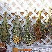 Цветы и флористика ручной работы. Ярмарка Мастеров - ручная работа Декоративная подвеска из трав в стиле кантри. Handmade.
