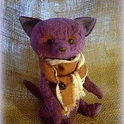 Куклы и игрушки ручной работы. Ярмарка Мастеров - ручная работа Фиолетовая лисичка.. Handmade.