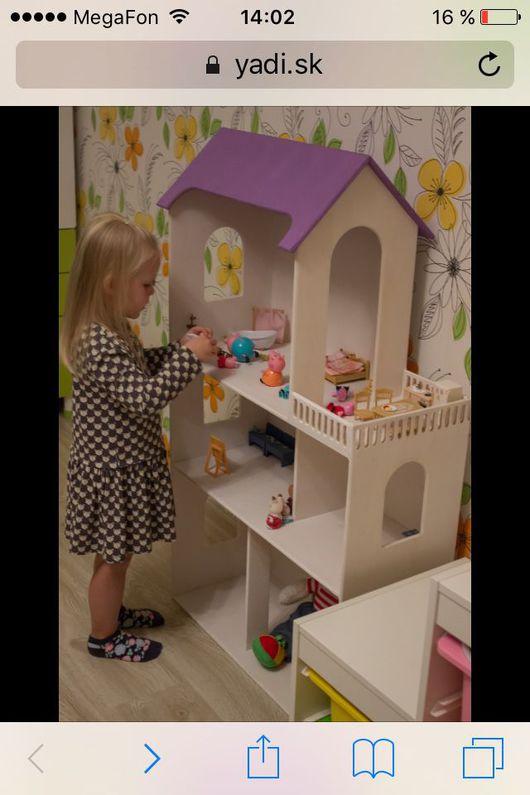 Кукольный дом ручной работы. Ярмарка Мастеров - ручная работа. Купить Домик для кукол. Handmade. Домик