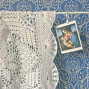 """Для дома и интерьера ручной работы. Ярмарка Мастеров - ручная работа Плед детский """"Мадонна с младенцем"""". Handmade."""