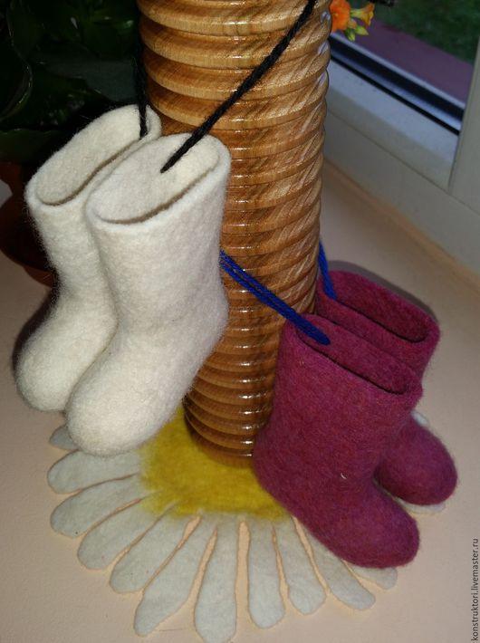 """Сувениры ручной работы. Ярмарка Мастеров - ручная работа. Купить Сувенирные валенки """"Шептуны"""". Handmade. Комбинированный, обувь для кукол"""