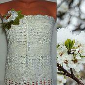 Одежда handmade. Livemaster - original item Skirt - top (convertible)