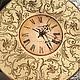Часы для дома ручной работы. Ярмарка Мастеров - ручная работа. Купить Настенные часы Вальс Французская ваниль. Handmade. Бежевый