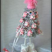 Подарки к праздникам ручной работы. Ярмарка Мастеров - ручная работа Конфетная елочка. Handmade.