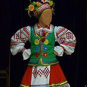 Работы для детей, ручной работы. Ярмарка Мастеров - ручная работа Белорусский костюм. Handmade.