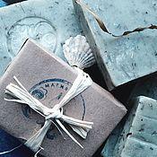 Косметика ручной работы. Ярмарка Мастеров - ручная работа МОРСКОЕ мыло  с водорослями органическое. Handmade.