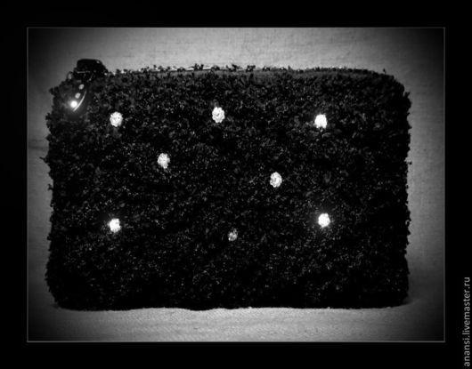"""Гадания ручной работы. Ярмарка Мастеров - ручная работа. Купить Мешочек для Таро """"Вечная Ночь Вампиров"""". Handmade. Черный"""