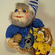 Куклы и игрушки ручной работы. Ярмарка Мастеров - ручная работа Интерьерная кукла Гномик-домовичок. Handmade.