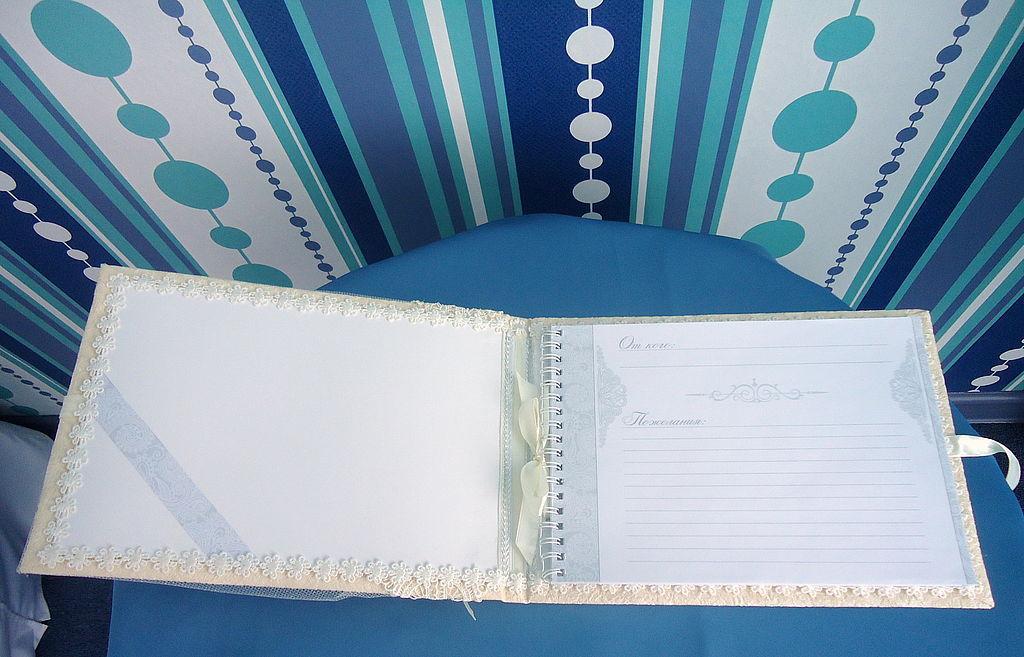 Свадебные фотоальбомы ручной работы