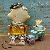 Куклы и игрушки ручной работы. Ярмарка Мастеров - ручная работа Грузовик. Handmade.