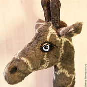 Куклы и игрушки ручной работы. Ярмарка Мастеров - ручная работа Жираф. Handmade.