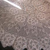 Для дома и интерьера ручной работы. Ярмарка Мастеров - ручная работа скатерть из цветов. Handmade.