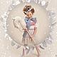 Одежда для девочек, ручной работы. Комплект для девочки. Анастасия Курбатова (anastakurbatova). Интернет-магазин Ярмарка Мастеров. Коктельное платье