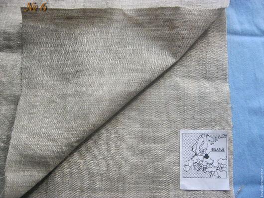 Шитье ручной работы. Ярмарка Мастеров - ручная работа. Купить Лён белорусский 100%. Handmade. Серый, лен белорусский