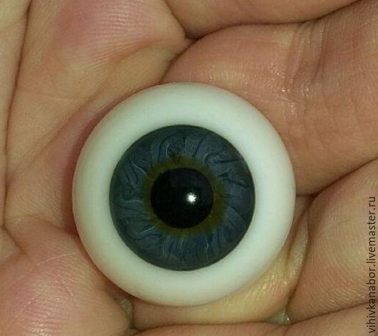 Куклы и игрушки ручной работы. Ярмарка Мастеров - ручная работа. Купить 9 Глаза Лауша. 22 мм. Handmade. Синий