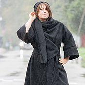 """Одежда ручной работы. Ярмарка Мастеров - ручная работа Теплый комплект из трех вещей """"Black Black Black"""". Handmade."""