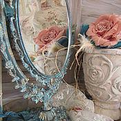 """Для дома и интерьера ручной работы. Ярмарка Мастеров - ручная работа Зеркало  """"Изящный век"""". Handmade."""